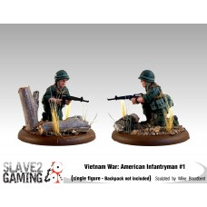 VIETNAM WAR - American 54mm range - Infantryman #1
