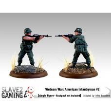 VIETNAM WAR - American 54mm range - Infantryman #2