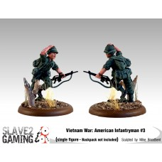 VIETNAM WAR - American 54mm range - Infantryman #3