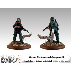VIETNAM WAR - American 54mm range - Infantryman #4