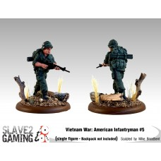VIETNAM WAR - American 54mm range - Infantryman #5