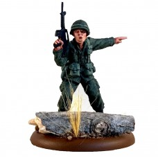 VIETNAM WAR - American 54mm range - Officer