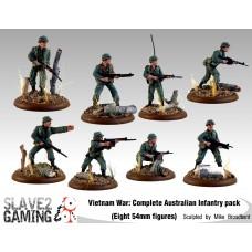 VIETNAM WAR - Australian 54mm range - Complete set