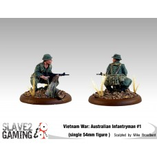 VIETNAM WAR - Australian 54mm range - Infantryman #1