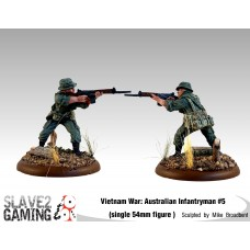 VIETNAM WAR - Australian 54mm range - Infantryman #5