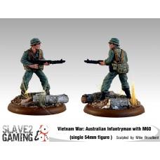 VIETNAM WAR - Australian 54mm range - M60 Light Machine Gun