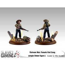 VIETNAM WAR - Vietnamese 54mm range - Female Viet Cong