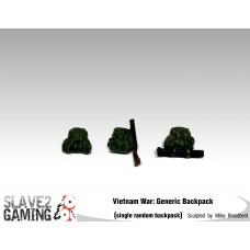 VIETNAM WAR - 54mm range - American/Australian Backpack