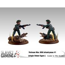 VIETNAM WAR - Vietnamese 54mm range - NVA #1