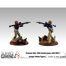 VIETNAM WAR - Vietnamese 54mm range - NVA with RPG 7