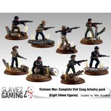VIETNAM WAR - Vietnamese 54mm range - Complete set