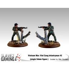 VIETNAM WAR - Vietnamese 54mm range - Viet Cong Infantryman #2