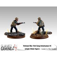VIETNAM WAR - Vietnamese 54mm range - Viet Cong Infantryman #3