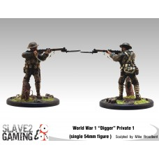 WW1 Diggers 54mm range - Private 1