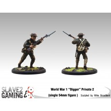 WW1 Diggers 54mm range - Private 2