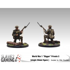 WW1 Diggers 54mm range - Private 3