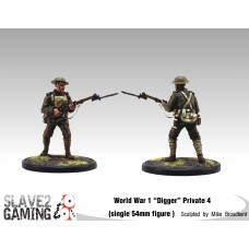 WW1 Diggers 54mm range - Private 4