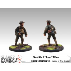 WW1 Diggers 54mm range - Officer
