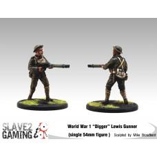 WW1 Diggers 54mm range - Lewis Gunner
