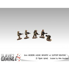 6MM Australian Infantry with Support Weapons
