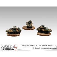 6MM ASLAV-25 Light Armoured Vehicle 1:285 SCALE