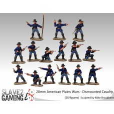 American Plains Wars - Dismounted US Cavalry
