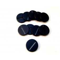 25mm round bases (10 pack)