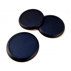 50mm Round nose bases (3 pack)