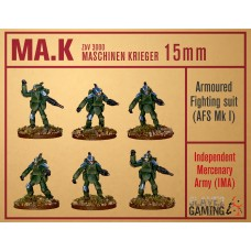 MASCHINEN KRIEGER in 15mm - IMA AFS Mk1 pack