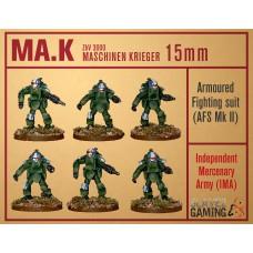 MASCHINEN KRIEGER in 15mm - IMA AFS Mk2 pack