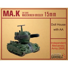 MASCHINEN KRIEGER in 15mm - IMA Doll House with AA