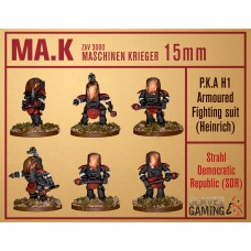 MASCHINEN KRIEGER in 15mm - SDR P.A.K H1 - Heinrich