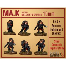 MASCHINEN KRIEGER in 15mm - SDR P.A.K K - Konrad