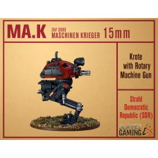 MASCHINEN KRIEGER in 15mm - SDR Krote with Rotary MG