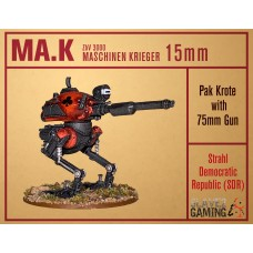MASCHINEN KRIEGER in 15mm - SDR Pak Krote with 75mm gun