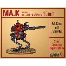 MASCHINEN KRIEGER in 15mm - SDR Pak Krote with 75mm gun