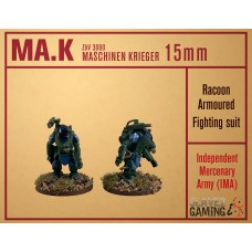 MASCHINEN KRIEGER in 15mm - IMA Raccoon pack