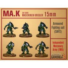 MASCHINEN KRIEGER in 15mm - IMA SAFS pack