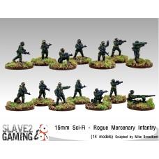Sci-Fi in 15mm - Rogue Mercenary Infantry
