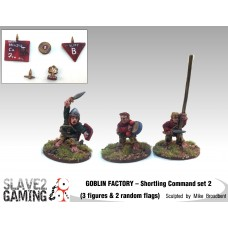 GOBLIN FACTORY - Shortling Command pack 2
