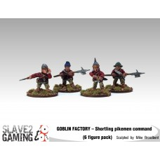 GOBLIN FACTORY - Shortling Pikemen Command