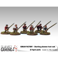 GOBLIN FACTORY - Shortling Pikemen Front rank