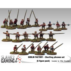 GOBLIN FACTORY - Shortling Pikemen complete set