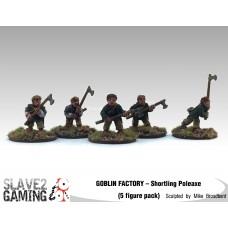 GOBLIN FACTORY - Shortling Poleaxe