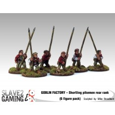 GOBLIN FACTORY - Shortling Pikemen Rear rank