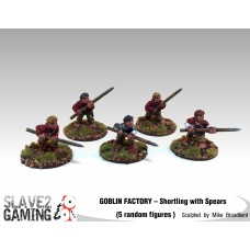 GOBLIN FACTORY - Shortling Spearmen