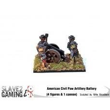 Battle of Teddysburg - Artillery Battery with Hat