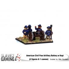 Battle of Teddysburg - Artillery Battery with Kepi