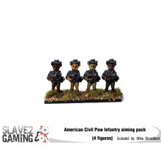 Battle of Teddysburg - Infantry with hat aiming pack