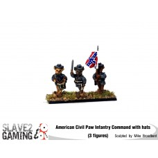 Battle of Teddysburg - Infantry with hat Command pack